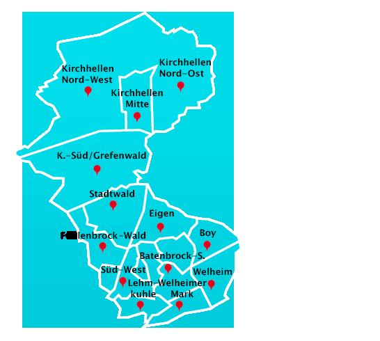 Herne Karte Stadtteile.Hausmeisterdienst Touren In Bottrop Hausmeisterdienst In